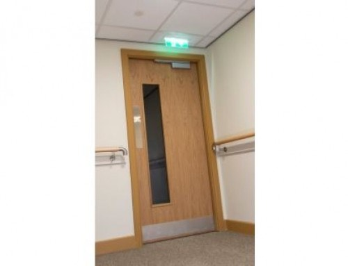 West Port's fastener focus helps deliver assured fire door performance