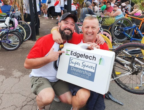 Edgetech Regional Manager Rides The Retro Run